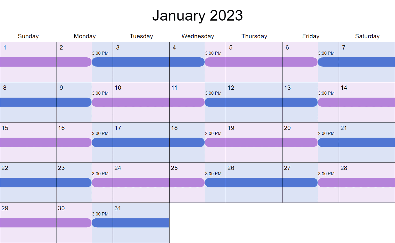 2 2 3 Visitation Schedule How Does It Work Why Would You Choose It